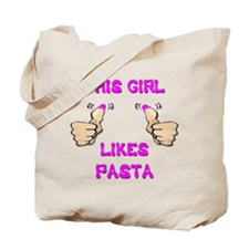 This Girl Likes Pasta Tote Bag