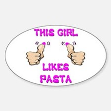 This Girl Likes Pasta Decal