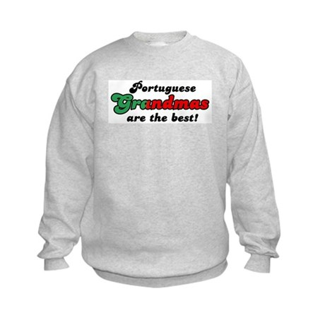 Portuguese Grandmas Kids Sweatshirt
