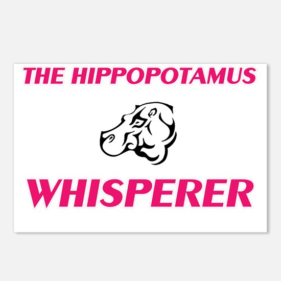 The Hippopotamus Whispere Postcards (Package of 8)