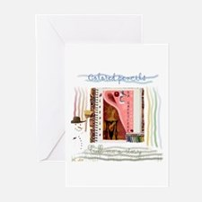 """""""Tell me a story / Raconte-mo Greeting Cards (Pack"""