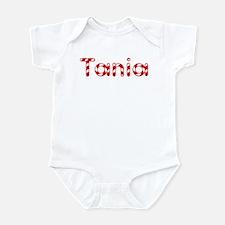 Tania - Candy Cane Infant Bodysuit