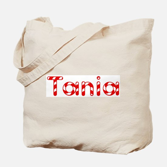 Tania - Candy Cane Tote Bag