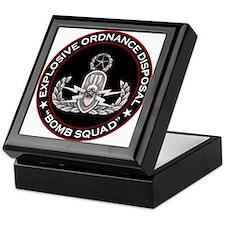 Master EOD Bomb Squad Keepsake Box