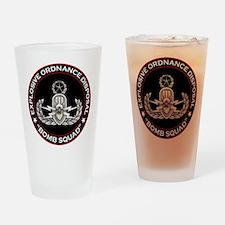Master EOD Bomb Squad Drinking Glass