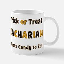 Zachariah Trick or Treat Mug