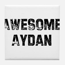 Awesome Aydan Tile Coaster