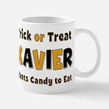 Xavier Trick or Treat Mug
