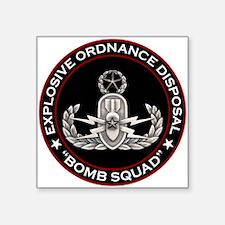 Master EOD Bomb Squad Sticker