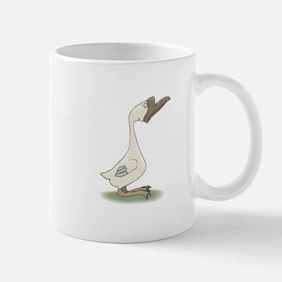 Silly White Goose Mug