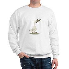 Silly White Goose Sweatshirt