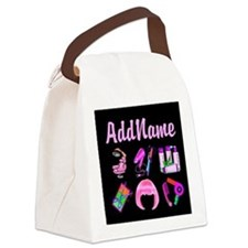 WILD HAIR STYLIST Canvas Lunch Bag