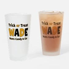 Wade Trick or Treat Drinking Glass