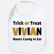 Vivian Trick or Treat Bib