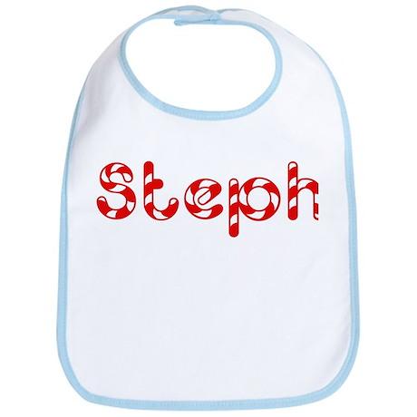 Steph - Candy Cane Bib