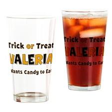 Valeria Trick or Treat Drinking Glass
