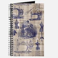 Vintage Sewing Toile Journal