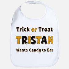 Tristan Trick or Treat Bib