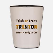 Trenton Trick or Treat Shot Glass