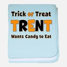 Trent Trick or Treat baby blanket