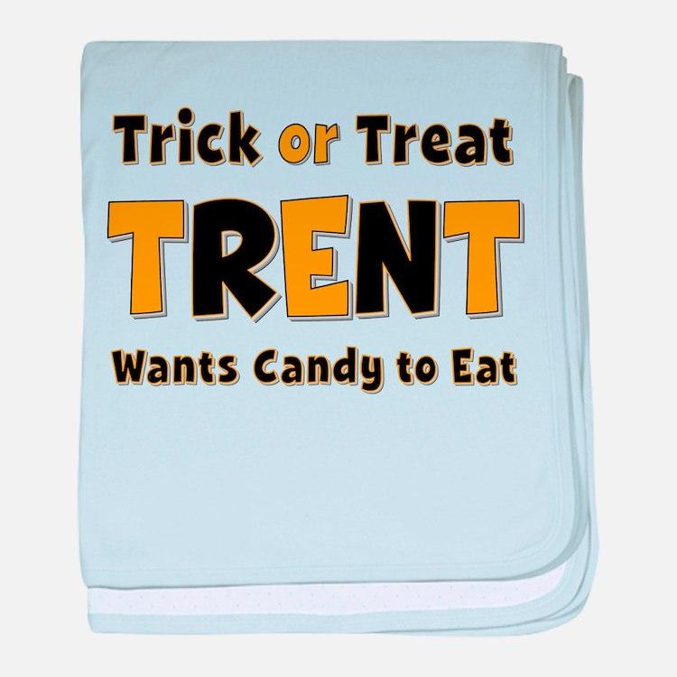 Trent Trick or Treat baby blanket