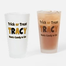 Tracy Trick or Treat Drinking Glass