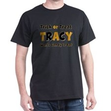 Tracy Trick or Treat T-Shirt