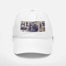 Vintage Sewing Toile Baseball Baseball Cap