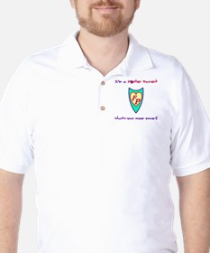 What's your super power? Golf Shirt