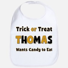 Thomas Trick or Treat Bib