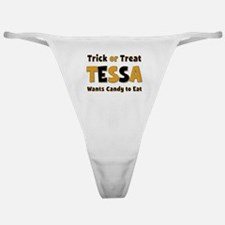 Tessa Trick or Treat Classic Thong