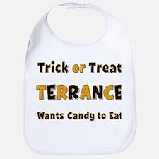 Terrance Trick or Treat Bib
