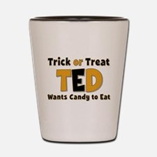 Ted Trick or Treat Shot Glass
