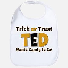 Ted Trick or Treat Bib