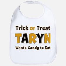 Taryn Trick or Treat Bib