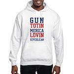 Gun totin Merica Lovin Hoodie