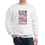 Gun totin Merica Lovin Sweatshirt