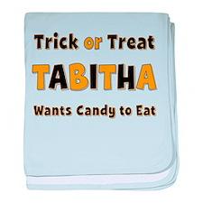 Tabitha Trick or Treat baby blanket