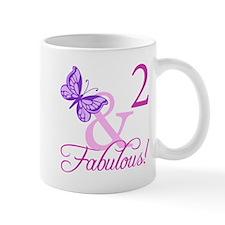 Fabulous 2nd Birthday For Girls Mug