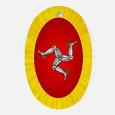 Isle of Man Ornament (Oval)