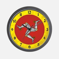 Isle of Man Wall Clock