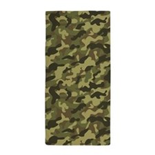 Army Camouflage Beach Towel