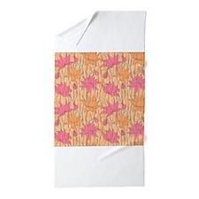 Lotus Positions Beach Towel