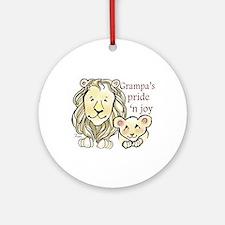 Grampas Pride n Joy Ornament (Round)