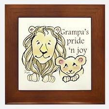 Grampas Pride n Joy Framed Tile