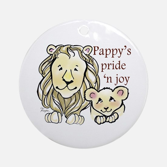 Pappys Pride n Joy Ornament (Round)