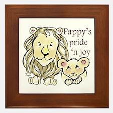 Pappys Pride n Joy Framed Tile