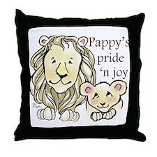 Pappys Pride n Joy Throw Pillow