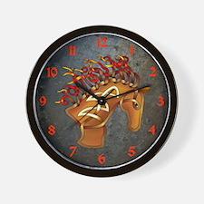 Horsehead Wall Clock