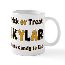 Skylar Trick or Treat Mug